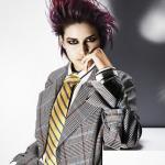 Kolekcja fryzur, Alain Pereque, androgeniczne, męski charakter mody, kobiety, kolory włosów, kształty, tekstura, techniki kolorystyczne, włosy