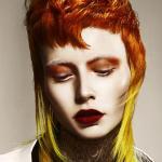 David Barron, precyzyjne strzyżenie, wibrujące kolory, odważne barwy, fryzury, kolekcja, kontrast, SUZI