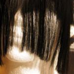 główka styropianowa z umocowanym i ostrzyżonym pasmem włosów P3 /na 3 klipsy/ imitującym grzywkę - P.P.H.U. SUZI