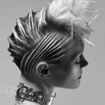 Duality, V. Mackinder, elegancja, tekstura, natura kobiety, kompozycje, forma, fason, fryzury, kosmyk, pukiel, asymetria, projektowanie i wizualizacja, FRK.03