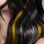 S. Burton, Safy B's, Aylesbury, fot. D. Greensmith, SUZI, FRK.03, kontrast symultaniczny, żółty, szary, czarny, projektowanie fryzur