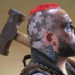 Paul Devlin, Wasteland, Mad Max, dystopia, technik barberingu, wzory, clipper art, barber, stylizuje, projektuje, kolekcje, fryzjerstwo, Zuzanna Sumirska, SUZI, FRK.01, FRK.03