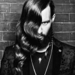 Ross Charles Collection, męska fryzura, hair, strzyżenia, stylizacja, loki, fale, Ruben Rodrigez, Dan Hardisty, symetria, asymetria, monochromatyczne