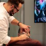 golenie zarostu -  TOP HAIR International Trend & Fashion Days Düsseldorf 2015