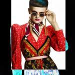 Shogo, retrotic, projektowanie fryzur, sztuczna inteligencja, kolory uzupełniające, niebieskie, suzi, FRK.03