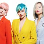 Muse of London, kolekcja, fryzury projektowane dla klientki, projekty, kolorowe, abcfryzjera.pl